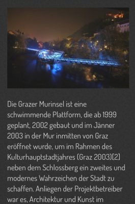 Actionbound - Grazer Murinsel